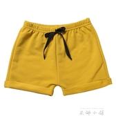 男童女童短褲寶寶休閒褲子薄款純棉沙灘褲兒童熱褲夏外穿   米娜小鋪
