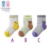 Chummy Chummy 條紋小熊襪