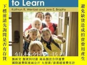 二手書博民逛書店【罕見】2013年平裝 激發學生學習動機Motivating S