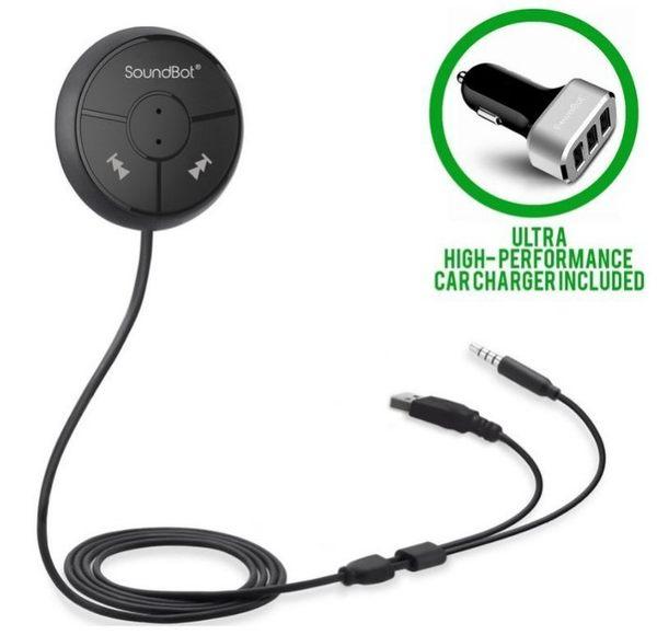美國Soundbot 藍芽音樂發射器 藍牙接收器 汽車音響 SB360 pioneer 先鋒 aux AD0