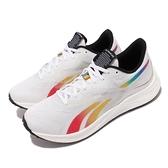 Reebok 慢跑鞋 Floatride Energy 3.0 白 彩色 舒適中底 男鞋 運動鞋【ACS】 GY5022