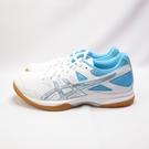 ASICS GEL-TASK 桌排羽球鞋 女款 1072A038102 白藍【iSport愛運動】