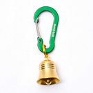 [Mont-Bell] Key Carabiner Bell Nasu-Kan 5 S 銅鈴小鉤環 鼠尾草 (1124340-SG)