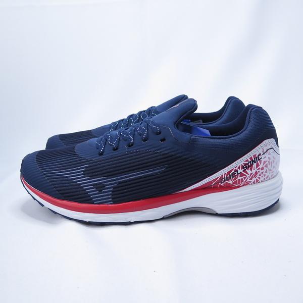 MIZUNO DUEL SONIC 慢跑鞋 3E寬楦 U1GD203418 男款 藍【iSport愛運動】