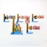 海賊王鯉魚旗造型公仔 模型 公仔 魯夫 香吉士 娜美 玩偶 微景觀 場景 擺件