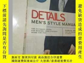 二手書博民逛書店DETAILS罕見MEN S STYLE MANUALY2457