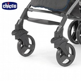 Chicco- New Lite Way 推車前車輪2入(黑色)