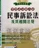 二手書R2YB2013年8月八版《學習式分科六法 民事訴訟法及其相關法規》來勝9