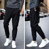 窄腳褲 運動褲男長褲緊口束腿秋季薄款男士褲子 koko時裝店