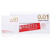 【超值促銷】 (共13片) sagami 相模元祖 幸福 001 極致薄保險套 12片裝+1片裝【套套先生】