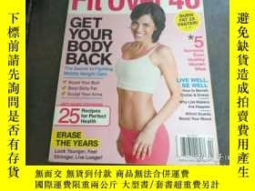 二手書博民逛書店PREVENTION罕見FIT OVER 40 GET YOUR