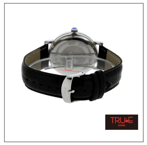 瑞士 TRUE 瑞時寶嘉  TS150273 都會簡約時尚腕錶 /44mm (黑)