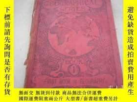 二手書博民逛書店【THE罕見FIRST BOOK OF GEOGRAPHY】地理