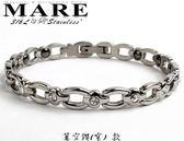 【MARE-316L白鋼】系列:鏤空鑽 (窄)  款