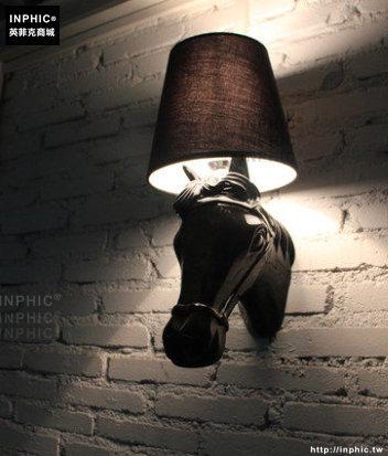 INPHIC- 北歐馬頭壁燈現代簡約客廳餐廳書房臥室個性創意時尚床頭燈-A款_S197C
