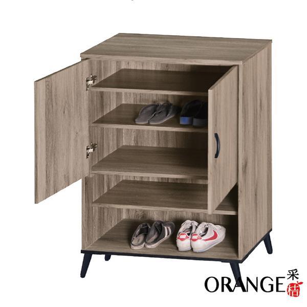 【采桔家居】哈本  現代風2.7尺二門鞋櫃/玄關櫃