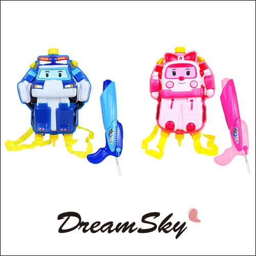 韓國 正版 正韓 雷標 poli 救援小英雄 波力 安寶 迷你 水槍 兒童 玩具 2款 DreamSky