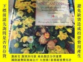 二手書博民逛書店FLOWERS罕見FOR SPECIAL OCCASIONS:特