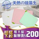 B326 珪藻土地墊 (現貨)  硅藻土地墊送磨紗紙 日系速乾地墊 腳墊 浴墊 腳踏墊 記憶地墊 (40*30)