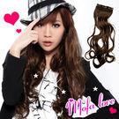 24吋寬15cm三扣假髮片 VIVI波浪公主頭 造型捲髮 補兩側 YS五色 魔髮樂Mofalove