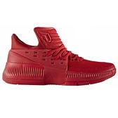 Adidas D Lillard 3 J 女鞋 大童 籃球 高筒 Bounce中底 紅 【運動世界】 BW0481