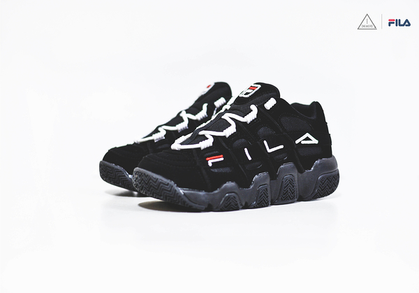 ISNEAKERS FILA Barricade XT 97 Low 老爹鞋 全黑 FS1HTB1052X