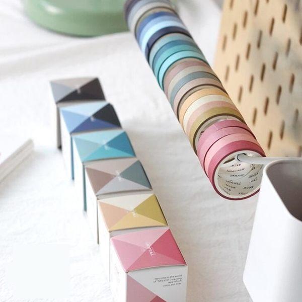 [拉拉百貨]漸層色 4色入 紙膠帶 和色彩談戀愛系列 和紙膠帶