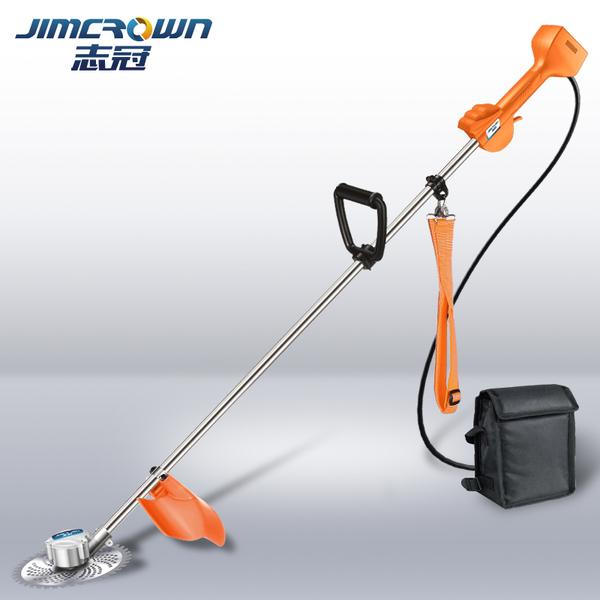 割草機 無刷充電式電動割草機小型收割機家用背負打草機草坪機園林除草機7300