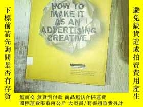 二手書博民逛書店HOW罕見TO MAKE IT AS AN ADVERTISIN