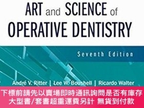 二手書博民逛書店Sturdevant s罕見Art and Science of Operative Dentistry,牙體外科