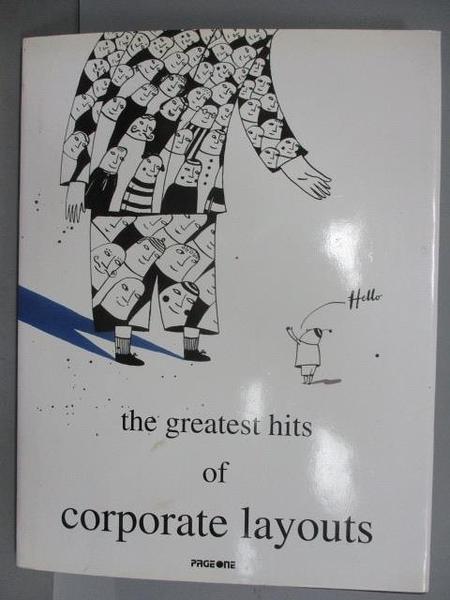 【書寶二手書T5/設計_EP7】The greatest hits of corporate layouts