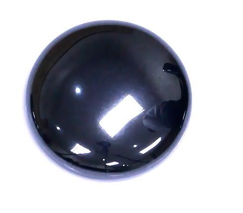 [協貿國際]天然鐵石圓型DIY手工飾品配件(5入價)