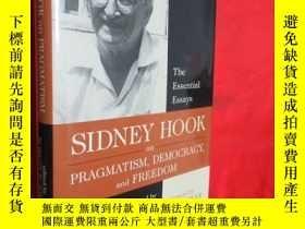 二手書博民逛書店Sidney罕見Hook on Pragmatism, Demo