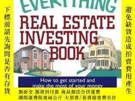 二手書博民逛書店The罕見Everything Real Estate Investing BookY410016 Janet