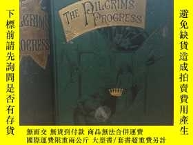 二手書博民逛書店1887年罕見THE PILGRIM S PROGRESS BY