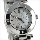 【萬年鐘錶】Gc瑞士 白貝殼真鑽錶 GXX70110L1S