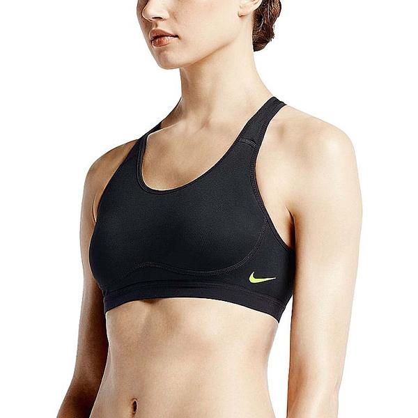 Nike 運動內衣 Pro Core Fierce Compression Sport Bra 黑 黃 螢光 女款【PUMP306】 620280-010
