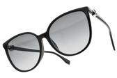FENDI太陽眼鏡 FF0310FS 8079O (黑-漸層藍鏡片) 低調貴氣貓眼款 # 金橘眼鏡