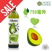 凹罐包裝不全【Chosen Foods】美國原裝進口頂級酪梨油1瓶 (750毫升) 效期2022/04/30