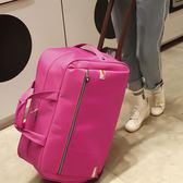 【年終大促】單拉桿背包兩用多功能拉包帶輪成人雙肩小號可背旅行箱拖拉行李箱