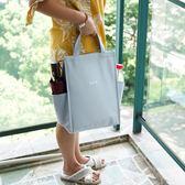 韓式便當手提包裝保溫桶飯盒袋子帶飯包大號保鮮包加厚鋁箔保溫袋 伊衫風尚