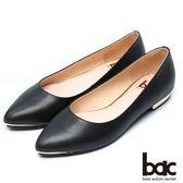 ★新品上市★【bac】都會時尚 簡約風格平底鞋(黑色)