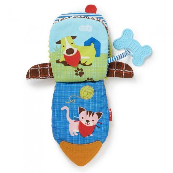 兒童玩具 / 童書 / 玩偶書 Skip Hop 互動玩偶布書 -小狗 大象 猴子
