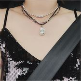 簡約小眾款圓珠項鍊女鎖骨鍊可做手鍊飾品