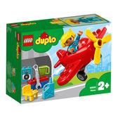 LEGO樂高 得寶系列 10908 飛機 積木 玩具