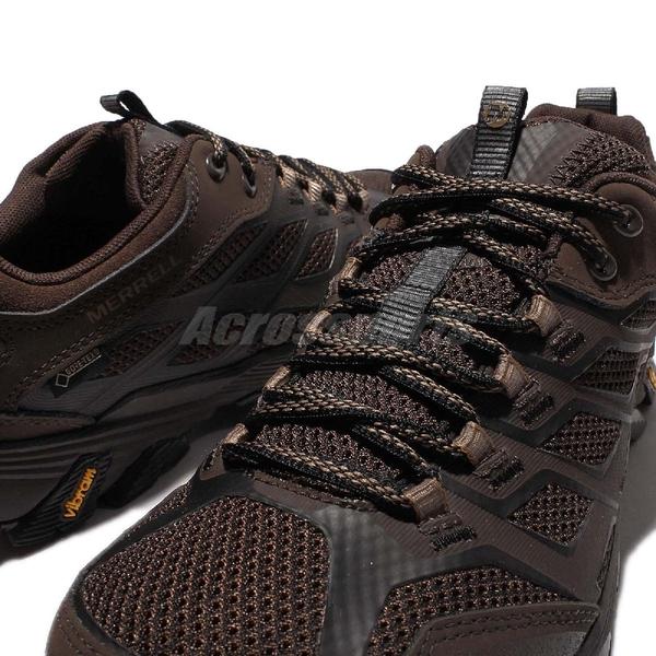 Merrell 戶外鞋 Moab FST 運動鞋 Gore-Tex 防水 越野 登山 咖啡 黑 休閒鞋 男鞋【ACS】 ML36983