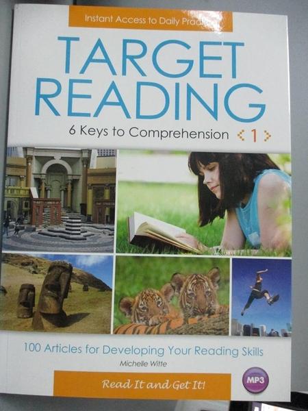【書寶二手書T8/語言學習_QLF】Target Reading(1)_Michelle Witte