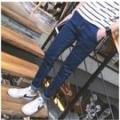 找到自己品牌 韓版修身四季基本款間約時尚休閑小腳牛仔褲男褲
