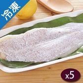 劍齒鰈魚清肉淨重160G/片X5【愛買冷凍】