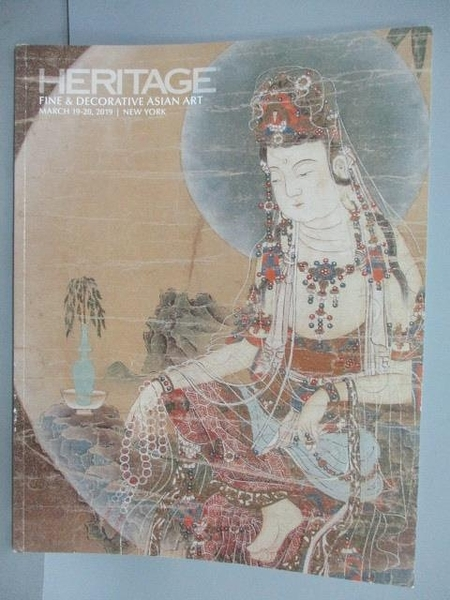 【書寶二手書T4/收藏_POD】HERITAGE_Fine&Decorative Asian Art Aucti